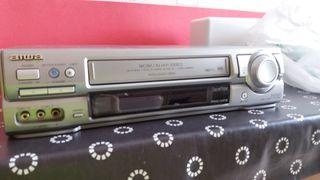 video VHS, reproductor grabador