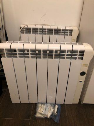 2 Radiadores calor azul Rointe serie C 770w