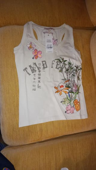 camiseta de tirantes libero de mujer