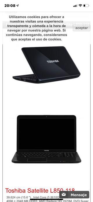 TOSHIBA SATELLITE L850-118