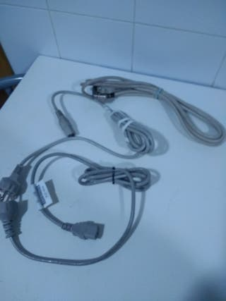 cables de ordenador 2€