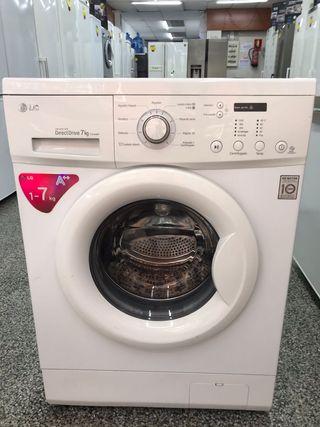 lavadora LG 7kg A++ grantia transporte gratis