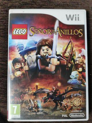 Lego Señor de los Anillos para Wii