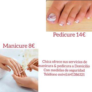 pedicure y manicura