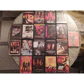 Peliculas DVD variadas.