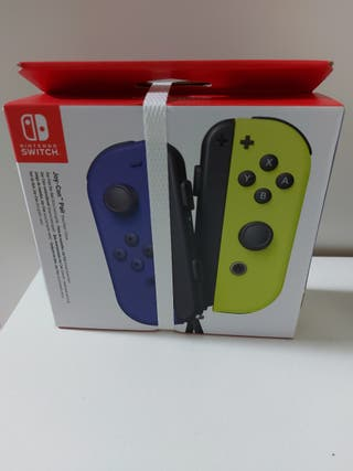 mandos Originales Nintendo Switch a estrenar