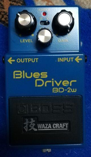 Blues Driver BD-2w pedal Guitarra