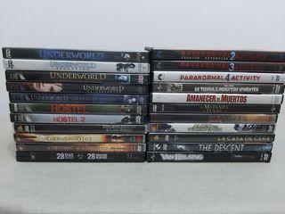 22 DVD de miedo