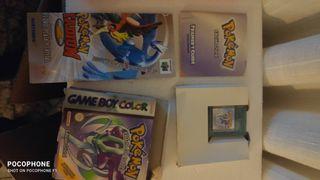 Juegos GameBoy/Game Boy color (caja, folleto,...)