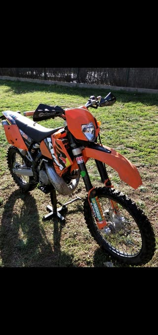 KTM exc 250 2t 2007