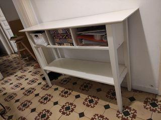 Mueble recibidor blanco - ikea