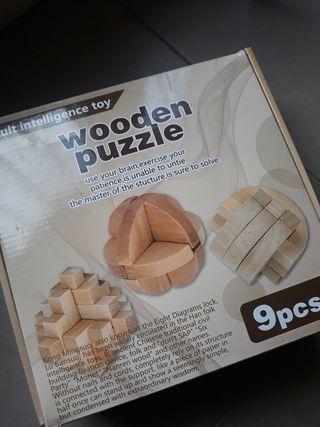 Puzzles de figuras 3D