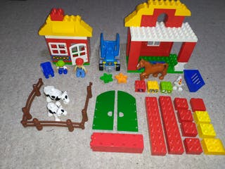 GRANJA LEGO DUPLO + REGALO PLAYMOBIL 123