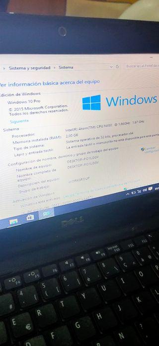 portátil Dell Mini