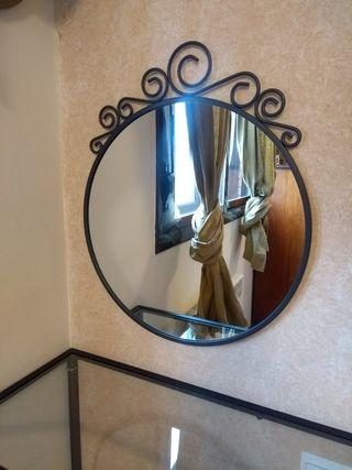 Espejo redondo de pared IKEA