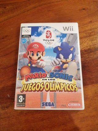 MARIO & SONIC EN LOS JUEGOS OLÍMPICOS para Wii