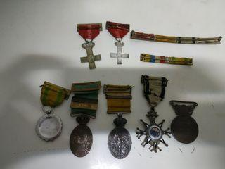 medallas de guerra 1909