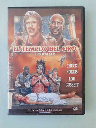 DVD - El templo del oro