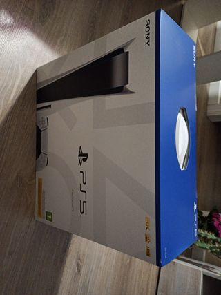 PLAYSTATION 5 lector de blue Ray PRECINTADA