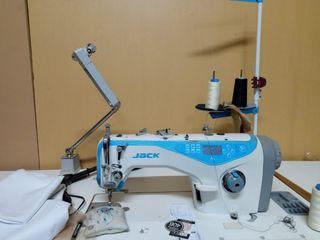 Máquina de coser plana industrial