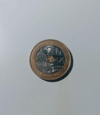 Moneda 20 francos Francia