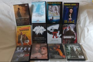 Lote 12 películas en DVD