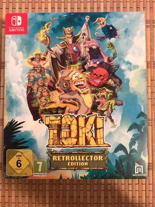Toki Nintendo Switch Edición Especial.