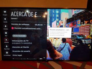 "LG 65"" SMART TV 4K UHD 3XHDR"