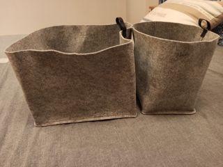 Set dos cestas nuevas Raggistar Ikea