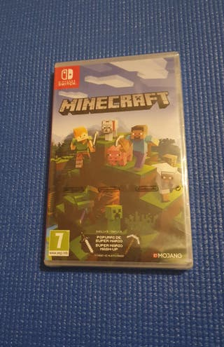 SIN ABRIR Minecraft Switch