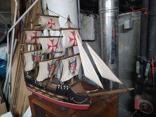 maqueta barco velero nao caravela