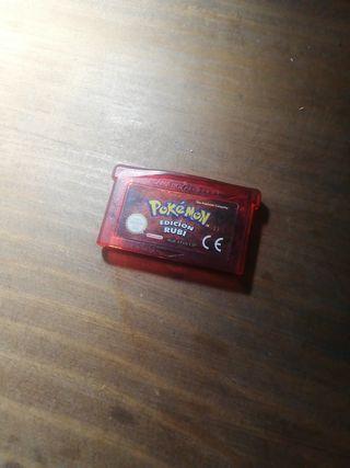 Pokémon rubi game boy advanced