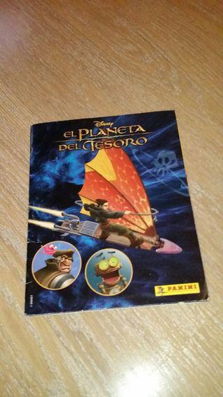 Colección completa EL PLANETA DEL TESORO Panini