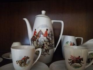 Juego café porcelana vintage