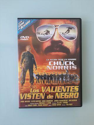 DVD - Los valientes visten de negro