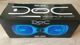 Hoverboard nilox azul balance scooter