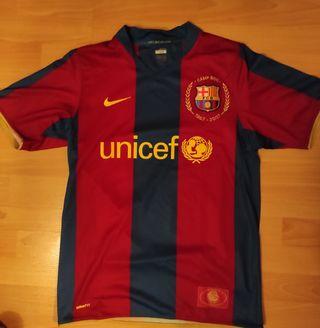1a equipación FC Barcelona 2007-08