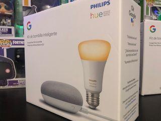 Kit Smarthome Google Nest + Bombilla philips