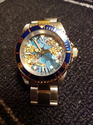 """Reloj diver automático SEIKO NH35 INVICTA """"TIGRES"""""""