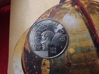 Moneda conmemorativa 200escudos República Portugal