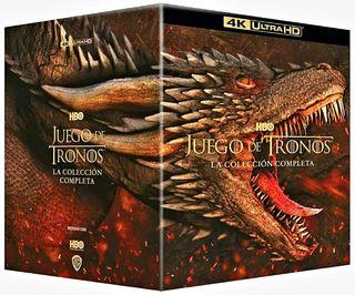 JUEGO DE TRONOS (PACK 4K)