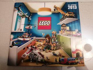 Catálogo lego 2013