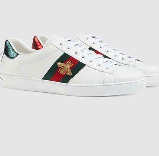 Zapatos Gucci Ace Bee / abeja Originales