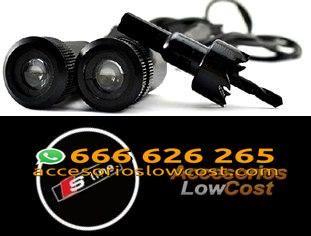 BT000302 - KIT DE DOS PROYECTORES LED LOGO S LINE PARA PUERTAS DEL COCHE.