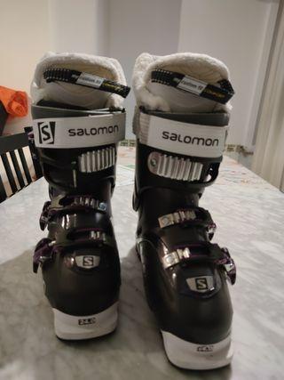 Botas de esquí Salomon talla 38-38.5