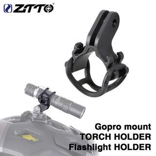 ZTTO-soporte para linterna de luz de bicicleta,