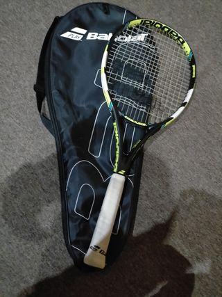 raqueta babolat+ funda