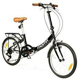 """Bicicleta plegable moma bike 20"""" como nueva"""