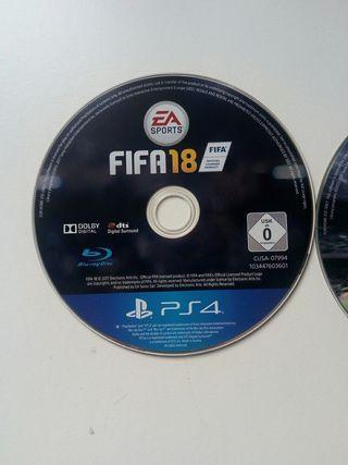 FIFA 15,16 y 18 ps4