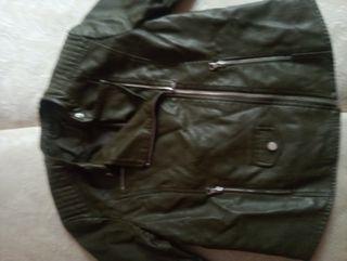 chaqueta cuero mujer